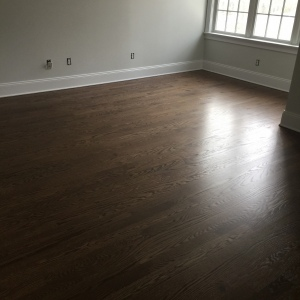 Red Oak Custom Stain 03